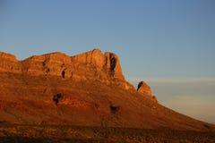 Puesta del sol en el rancho Foto de archivo libre de regalías