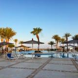 Puesta del sol en Hurghada Imagen de archivo