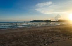 Puesta del sol en Krabi Fotografía de archivo