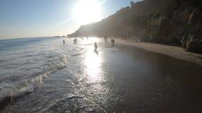 Puesta del sol en la playa del EL Matador