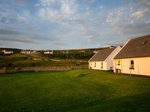 Puesta del sol en Maghery, Donegal Imagenes de archivo
