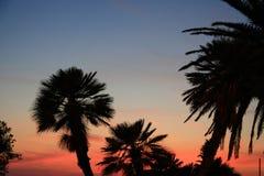 Puesta del sol en Montenegro Foto de archivo libre de regalías