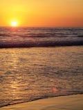 Puesta del sol en Oregon Foto de archivo libre de regalías