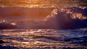 Puesta del sol en verano fotos de archivo