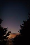 Puesta del sol en verano imagen de archivo libre de regalías
