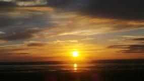 Puesta del sol estupenda de la yegua de Weston Foto de archivo