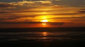 Puesta del sol estupenda de la yegua de Weston Imágenes de archivo libres de regalías