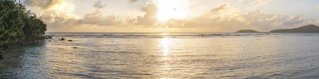 Puesta del sol gloriosa Foto de archivo libre de regalías