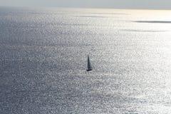 Puesta del sol, Gozo Imagenes de archivo