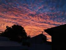 Puesta del sol HD Fotos de archivo libres de regalías