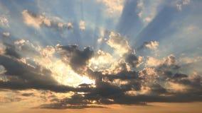puesta del sol hermosa 4k almacen de metraje de vídeo