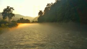 Puesta del sol Malaia Foto de archivo libre de regalías