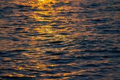 Puesta del sol para el fondo Fotos de archivo libres de regalías