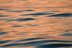 Puesta del sol para el fondo Fotos de archivo