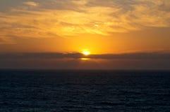 Puesta del sol Portugal Fotos de archivo