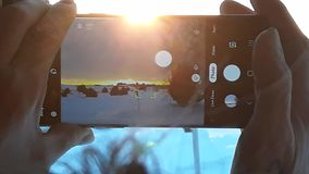 Puesta del sol Ray fotografía de archivo libre de regalías