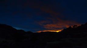 Puesta del sol sobre parque cherokee Fotos de archivo