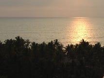 Puesta del sol suave Fotos de archivo libres de regalías