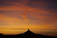 Puesta del sol, Utah Fotografía de archivo