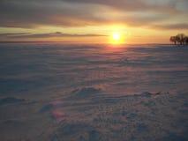 Puestas del sol imágenes de archivo libres de regalías