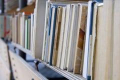 Puesto de libros Imágenes de archivo libres de regalías