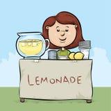 Puesto de limonadas Fotos de archivo