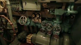 Puesto de mando principal submarino metrajes