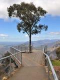 Puesto de observación de Boroka en el parque nacional de Grampians Imagen de archivo libre de regalías