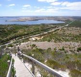 Puesto de observación de la colina de la perspectiva Fotografía de archivo