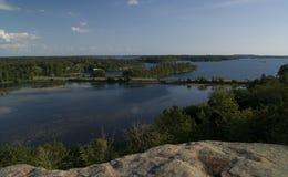 Puesto de observación de Landon Bay Imagenes de archivo