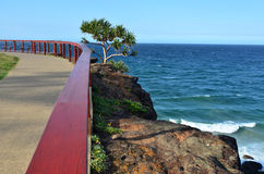 Puesto de observación del peligro del punto - el tweed dirige Queensland Australia foto de archivo