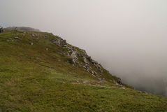 Puesto de observación del rastro del horizonte Imagen de archivo libre de regalías