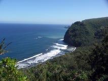 Puesto de observación del valle de Pololu Foto de archivo libre de regalías