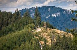 Puesto de observación en Tatras bajo, Eslovaquia Imagen de archivo libre de regalías