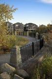 Puesto de observación suburbano Fotografía de archivo libre de regalías