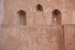 Puestos de observación en el castillo de Jabreen Fotografía de archivo libre de regalías
