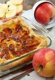 Puff apple pie. Royalty Free Stock Photography