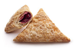 Puff Cherry Turnovers Royalty Free Stock Photos