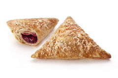 Puff Cherry Turnovers Stock Images