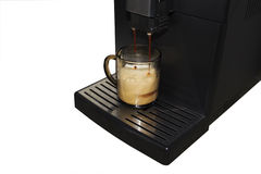 Puff coffee espresso machine Royalty Free Stock Image