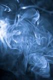 puff formad rök konstigt Arkivbilder