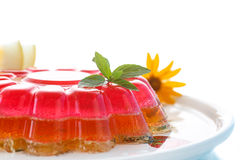 Puff jelly Stock Photo