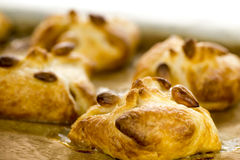 Puff pastries Stock Image