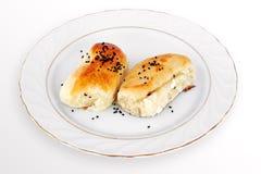 Puff pastries - Peynirli Pogaca Royalty Free Stock Image