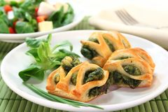 Puff pastry Stock Photo