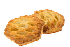 Puff pastry apple pies Royalty Free Stock Images