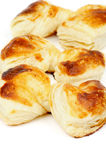Puff Pastry Bakery Royalty Free Stock Images
