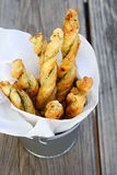 Puff Pastry Breadsticks Stock Image