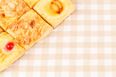 Puff Pastry Cakes Stock Photo