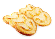 Puff pastry cookie Royalty Free Stock Photography
